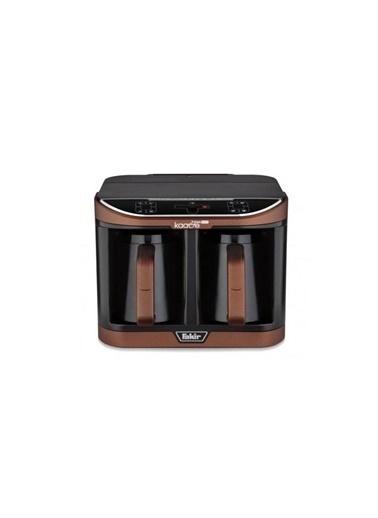 Fakir Kaave Dual Pro Kahverengi İkili Kahve Makinesi Renkli